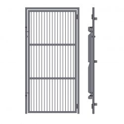 Full Frame Kennel Doors with Grill