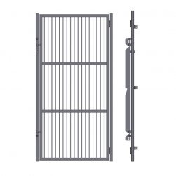 Grill Kennel Doors Without Top and Bottom Frame