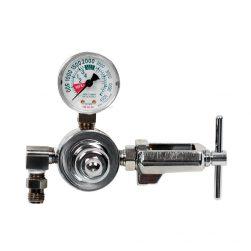 Small Cylinder Chrome Plated Brass Regulator