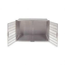 Double Door Stainless Steel Cages