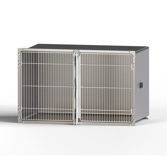 Double Door Stainless Steel Cages