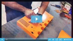 The painting process of your veterinary equipment