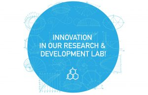 Innovation in our Research and Development Lab for Vet products!