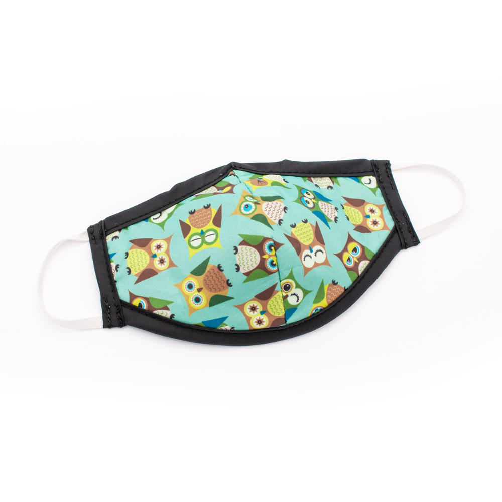 Cutie Owls Washable Protective Mask