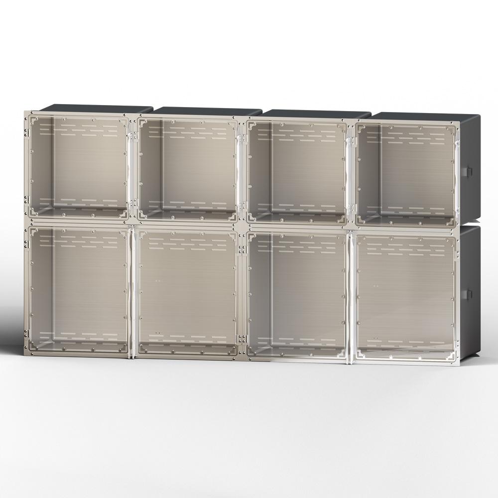 Cage Setup – layout D – 10'